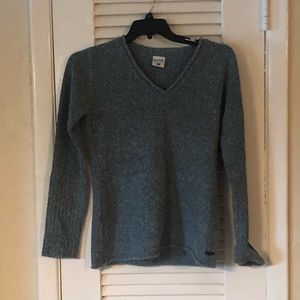 NWT Columbia Nubby Nouveau v neck sweater
